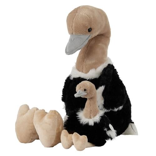 lieber und weicher vogel strauss kuscheltier in top. Black Bedroom Furniture Sets. Home Design Ideas