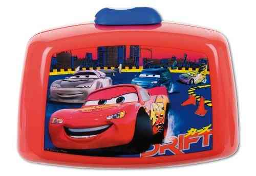 Brotdose,Lunchbox Disney Cars ,Frühstücksbox Brotbox Lightning McQueen