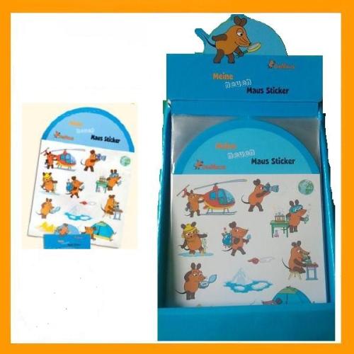 Leider Vergriffen 24 X Aufkleber Sticker Sendung Mit Der Maus Wurfmaterial